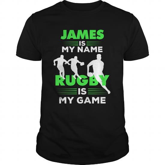 Rugby Is My Game – James Name Shirt