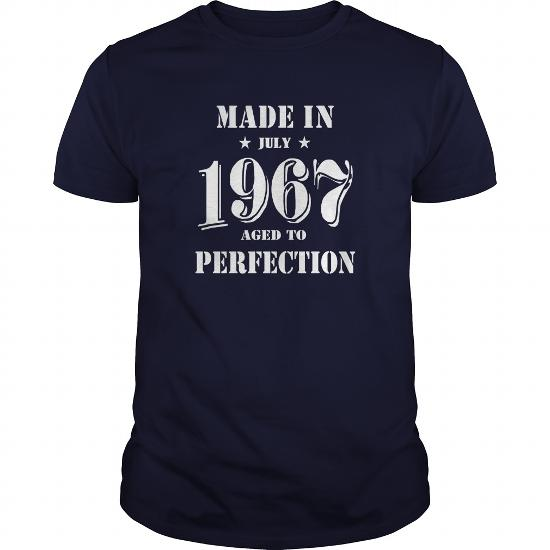 Made In July 1967 Shirts,july 1967 T-Shirt,july 1967 Tshirt,born In July 1967,made In July 1967 Shirt,1967S T-Shirt,born In July 1967