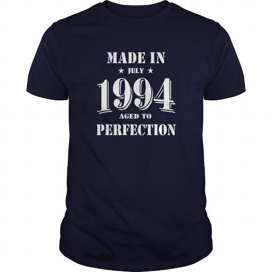 Made In July 1994 Shirts,july 1994 T-Shirt,july 1994 Tshirt,born In July 1994,made In July 1994 Shirt,1994S T-Shirt,born In July 1994
