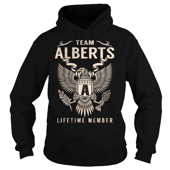 Team Alberts Lifetime Member – Last Name, Surname T-Shirt