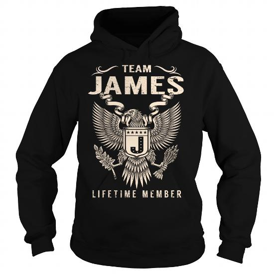 Team James Lifetime Member Name Shirts