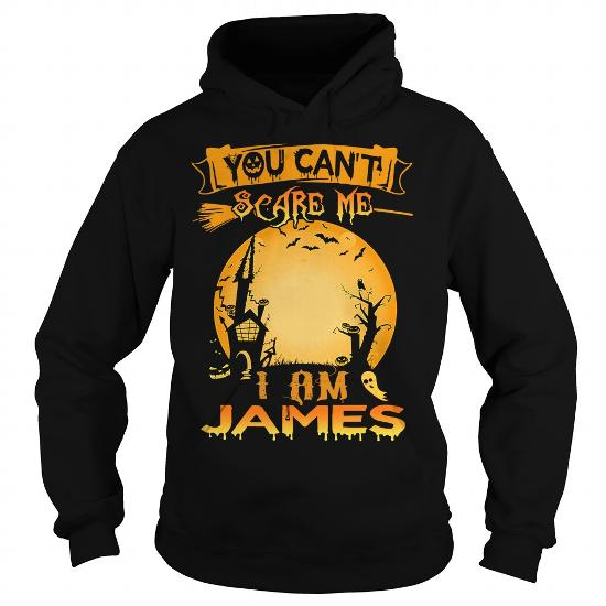 I Am James, You Can't Scare Me