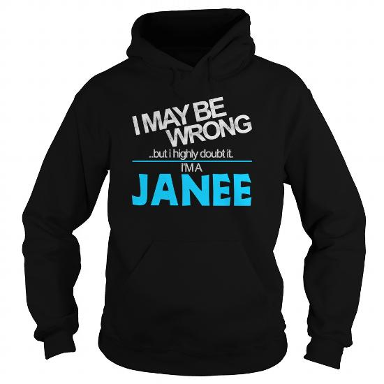 Janee Doubt Wrong – Janee Name Shirt