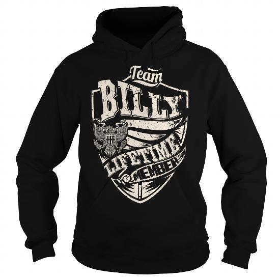 Last Name, Surname Tshirts – Team Billy Lifetime Member Eagle