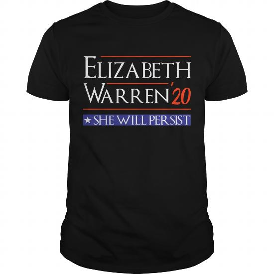 Elizabeth Warren 2020 For President Election T-Shirt