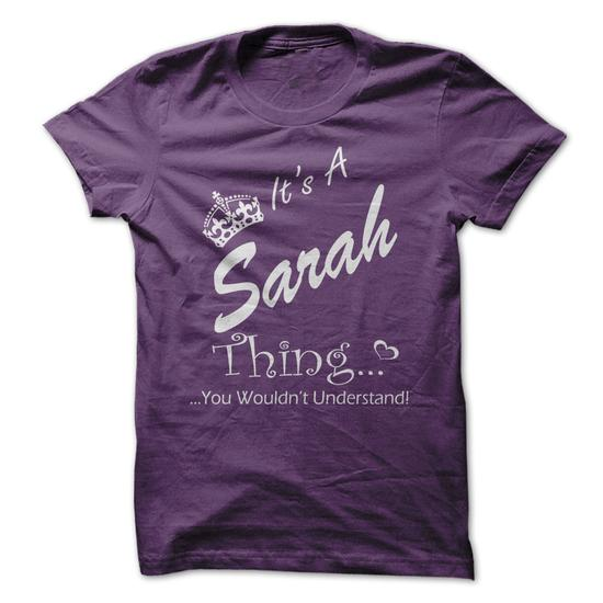 Its A Sarah Thing You Wouldnt Understand
