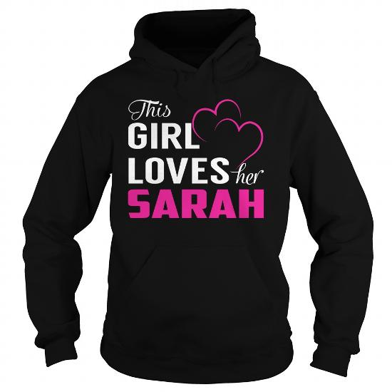 This Girl Loves Her Sarah Pink