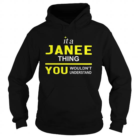 Teeforjanee Janee Thing New Cool Janee Name Shirt