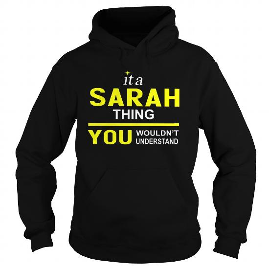 Teeforsarah Sarah Thing New Cool Sarah Name Shirt