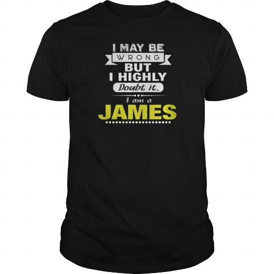 Best James – Highly Doubt I'm Wrong-Front (2) Shirt