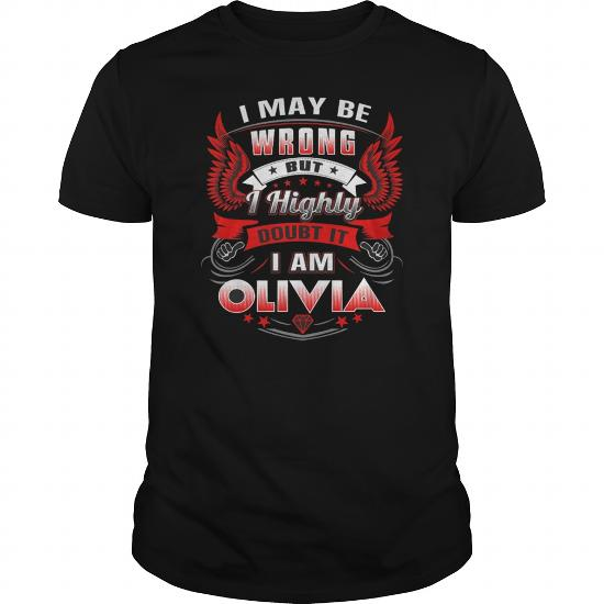 Best It's An Olivia Thing-Front Shirt