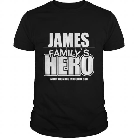 James Family's Hero Shirt