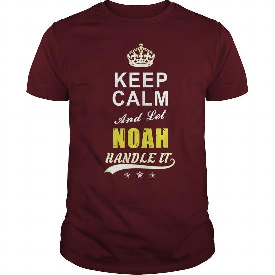Noah Keep Calm And Let Handle It