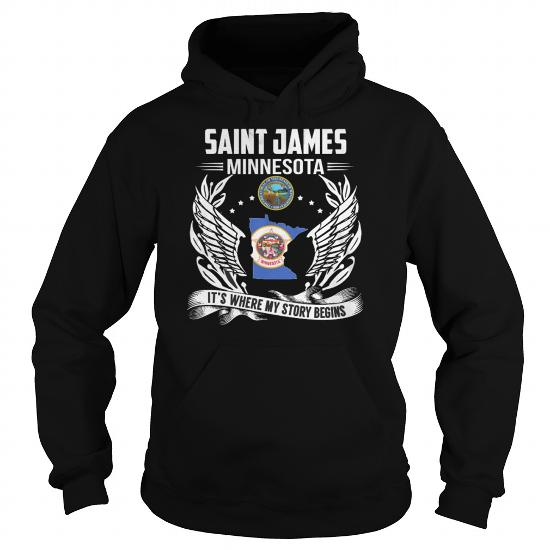 Best Saint James New York My Story Beginsfront Shirt