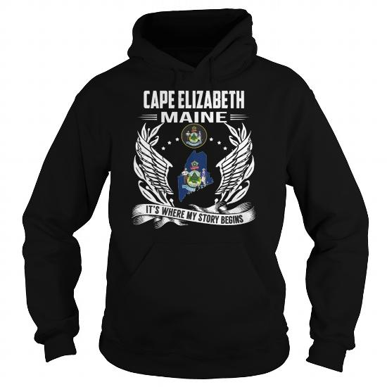 Best Cape Elizabeth Maine My Story Beginsfront1 Shirt
