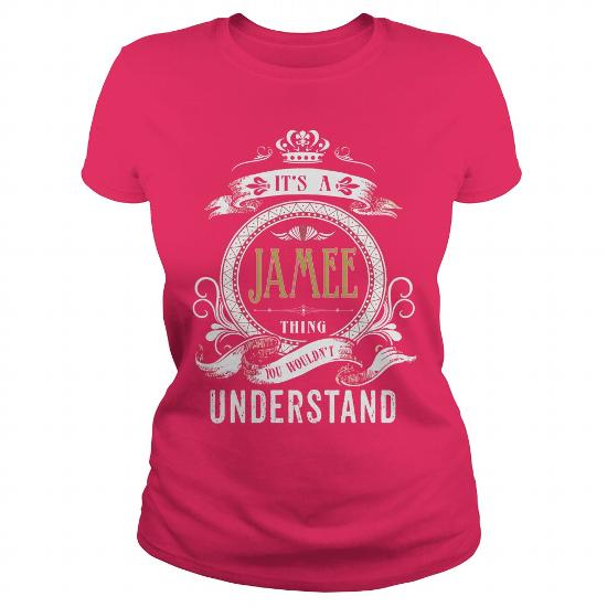 Jamee Its A Jamee Thing You Wouldnt Understand T Shirt Hoodie Hoodies Yearname Birthday