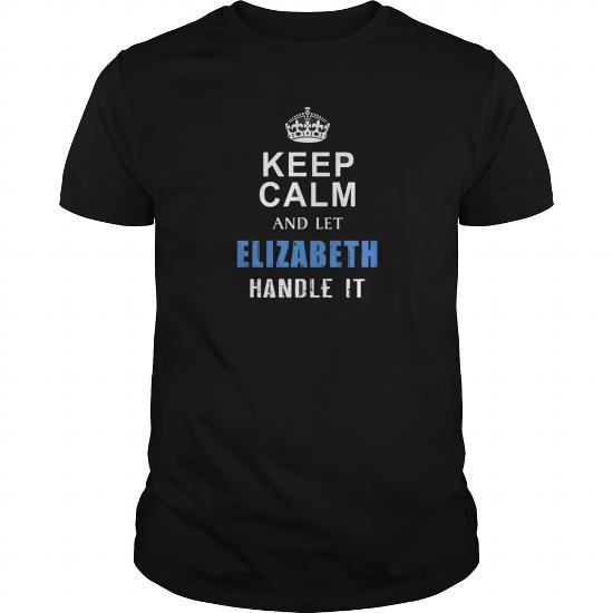 Best Elizabeth Keep Calm Tshirtfront Shirt