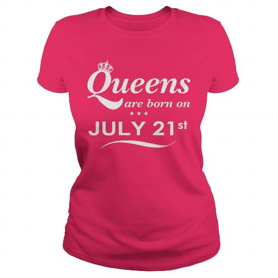 July 21 Shirts Queens Are Born On July 21 Shirt July 21 T-Shirt July 21 Queen Born July 21 July 21 Tshirts Queens Born On July 21 Hoodie Vneck