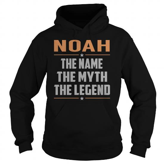 Noah The Name The Myth The Legend Name Shirts
